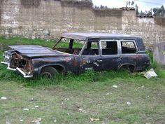 71 Pontiac hearse