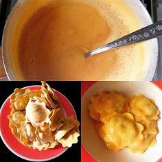 la cucina di Rosaria: Agnolotti in salsa all'arancia e mandarino