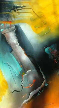 """Michaela Steinacher, """"gefärbte Gedanken"""" Mit einem Klick auf 'Als Kunstkarte versenden' versenden Sie kostenlos dieses Werk Ihren Freunden und Bekannten."""