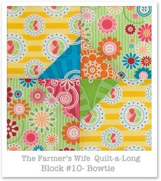 Farmer's Wife Quilt-a-Long - Block 10 by Happy Zombie, via Flickr