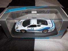 MINICHAMPS 1:43 JAGUAR XJ220 ERG RACING GT CUP ITALIA MODEL 1993 PAOLO CUTRERA