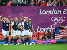#US Women's #Soccer stirkes again with a 1-0 win over North Korea. #GoForTheGold