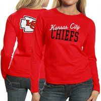 Kansas City Chiefs Ladies Game Day Long Sleeve T-Shirt! #UltimateTailgate #Fanatics