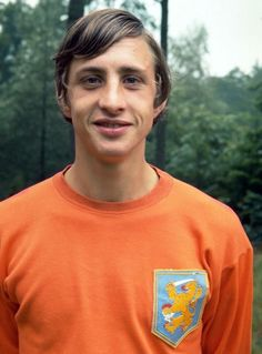 A young Johan Cruiff (Ajax Amsterdam) One of the best soccerplayers ever.