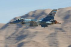 F- 16C Fighting Falcon of the 18th Aggressor Squadron, based Eielson Air Force Base in Alaska.