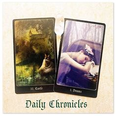 #dailychronicles for February 28th.  Today has you contemplating possibilities and your focus is on your home. Are you planning a house move a renovation or starting those savings for your dream home?  Just remember it's not enough to simply wish for it - the goal is in sight but action is needed for these plans to materialise.  #chroniclesofdestiny #fortunecards #cartomancy #divination #tarot #tarotcards #oraclecards #guidance #dailycard #castle #dreams by emsellershaw