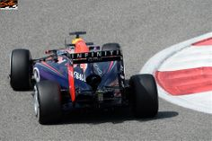 F1 2014 - Bahrain - Day 5 - Testing; Rear of the Red Bull