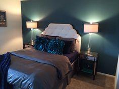 My actual bedroom!