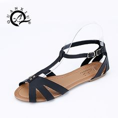 $12.10 (Buy here: https://alitems.com/g/1e8d114494ebda23ff8b16525dc3e8/?i=5&ulp=https%3A%2F%2Fwww.aliexpress.com%2Fitem%2F2016-Gladiator-Sandals-Women-Flats-Sandalias-Mujer-Large-Size-Ladies-Sexy-Slippers-Women-S-Shoes-Rasteirinha%2F32613829825.html ) 2016 Gladiator Sandals Women Flats Sandalias Mujer Large Size Ladies Sexy Slippers Women'S Shoes Rasteirinha Buckle Soft Strap for just $12.10