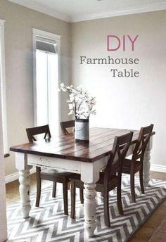 41+ Trendy Farmhouse Kitchen Table Stain Colors #kitchen #farmhouse