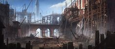 Royal Courts Interior - Characters & Art - Assassin's Creed Syndicate