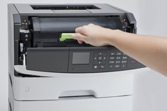 Lexmark Compact Monochrome Laser Printer Network Ready Duplex Printing and Professional Features -- More info could be found at the image url-affiliate link. Laser Printer, Monochrome, Desktop, Compact, Printing, Link, Image, Grey, Gray