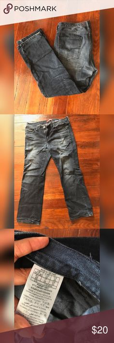 Guess men jeans Mildly used guess men jeans, great condition,  true to size Guess Jeans Straight Leg