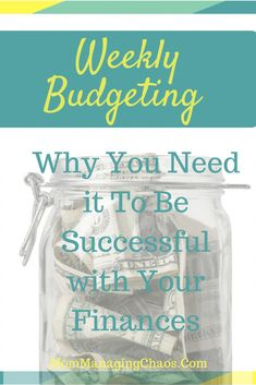 Budgeting Weekly | Why You Need It + How to Do It