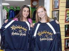 We recently custom embroidered these jackets for The Golden Girls &  Company. They are a kickline, and dance team with a tradition of excellence.