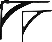 Arch Cast Iron Shelf Bracket $12 large