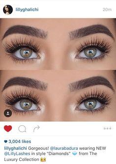 Eye Lash Curlers – Your Secret to Big and Beautiful Lashes Makeup Goals, Makeup Inspo, Makeup Tips, Beauty Makeup, Eye Makeup, Eyelash Extensions Before And After, Lily Lashes, Eyelash Extensions Styles, Formal Makeup