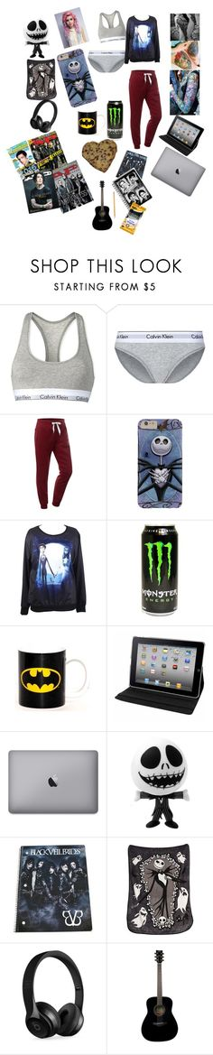 """""""Untitled #132"""" by lexaguilbert ❤ liked on Polyvore featuring Calvin Klein, Cotton Candy, Natico, Disney, Beats by Dr. Dre, Yamaha and Paper Mate"""