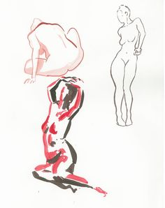 Croquis Modele vivant by matama15