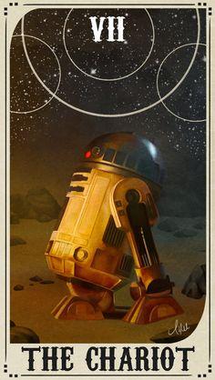 Star Wars Tarot Deck - VII The Chariot by ctyler.deviantart.com on @DeviantArt