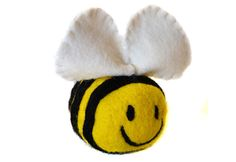 Felted Bumble Bee Made by Uniquekerer, Goldfishdreams, Handmade, Crafted, OOAK, Beautiful, Unique, Pretty, Felted