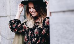 bloemenprint dames fashion trend zomer 2017