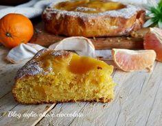 La torta all'arancia cremosa , un tripudio di bontà e freschezza veramente favolosa, morbidissima e cremosa fino all'ultimo morso