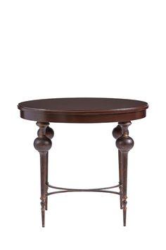 Adriana Lamp Table in Pomegranate