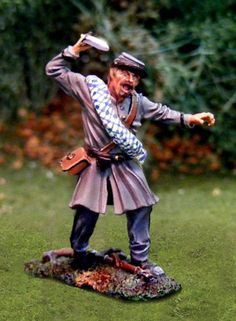 CIVIL WAR CONFEDERATE CS00754 11TH VIRGINIA STABBING - Price: $35.90  Collectors Showcase Military Miniatures and Models. Factory made, hand assembled, painted and boxed in a padded decorative box. Excellent gift for the enthusiast.