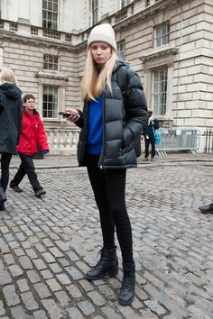 90 Street Style Outfits You Have to See From London Fashion Week | StyleCaster