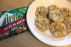 These cookies are becoming my husband's specialty – he is known for making them. They are a bit deceptive – they look a lot like regular chocolate chip cookies, but with the yummy and surprising flavor of Andes Creme de … Continue reading →