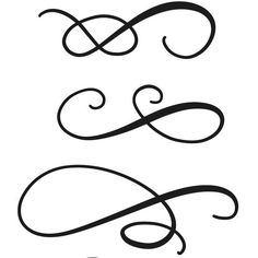 Updated my Brush-Lettering Worksheets with three pages full of beautiful flourishes!
