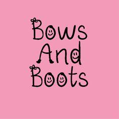 Bows And Boots   Dafont