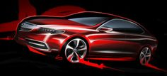 Acura 2015 TLX Prototype - Design Sketch