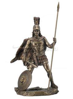 Roman God Of War Sculpture by BronzesFigurines on Etsy