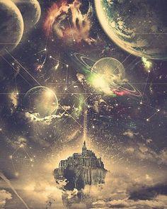 """Polubienia: 4,704, komentarze: 13 – bizarreArt (@bizarreart1) na Instagramie: """"Space dream by Dinca Dragos"""""""