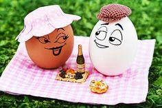 Yumurtalar piknikte