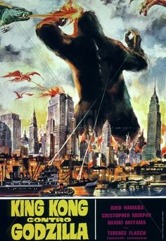 King Kong vs Godzilla  (And they didn't get a single cast member correct) (And put in Gamera instead of Godzilla)