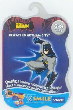 V Smile Game in Spanish - Batman: Rescate en Gotham City - Batman: Rescue in Gotham City @ niftywarehouse.com #NiftyWarehouse #Geek #Fun #Entertainment #Products