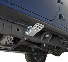 M.O.R.E. Hide-A-Step | Jeep Parts and Accessories | Quadratec