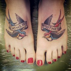 I like everything about this tattoo.  The placement and that it looks old school.