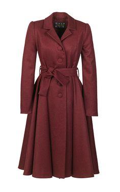 Muse Coat by Lena Hoschek for Preorder on Moda Operandi