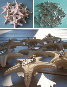 easy starfish boutonniere