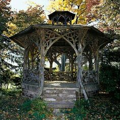 rustic old gazebo, This is what I want, now to get someone to build it for me Mais