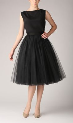 Tulle skirt long petticoat high quality tutu skirts by Fanfaronada