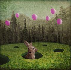 Katrine Kalleklev-After night comes day / digital graphics, 20112