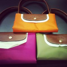 New Longchamp Spring Colors!!