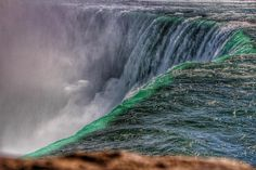 Niagara Falls Ontario ~ Canada ~ Horseshoe Falls ~ Historic Site Canada is a North American region extending from the��_