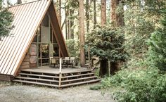 If you're looking for a weekend getaway to unplug and unwind with friends, then look no further than this cute A-frame cabin! Located in ...