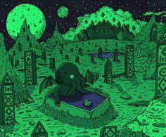 Cthulhu #lovecraft #hplovecraft #cthulhu